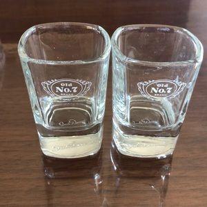 Jack Daniel's shot glasses set of 2